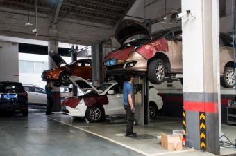4S店实地走访:你以为电动车真的不用保养?