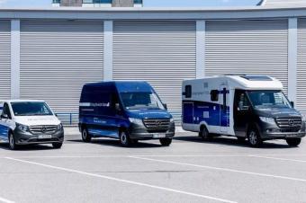 奔驰商用车电气化战略先于乘用车落地,首款商用VAN9月上市