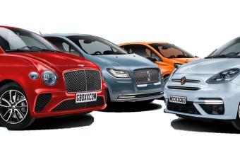 如果法拉利、保时捷、宾利都有微型车,那会是什么画风?