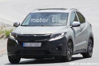 本田HR-V改款车型路试谍照 外观细节进行微调
