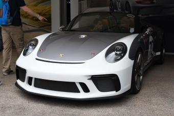 为保时捷70岁生日献礼,实拍911 Speedster概念车