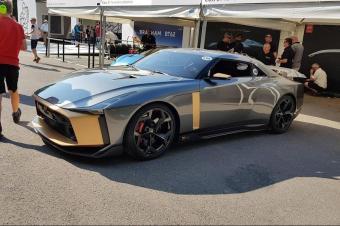 实拍日产GT-R50,颜值炸裂 与官图一致,超跑见了都汗颜!