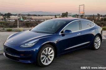 特斯拉取消北美Model 3预订系统 官网直接下单
