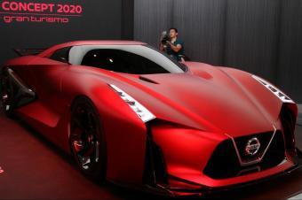 """""""平民超跑""""终于要换代了!新款日产GT-R概念车正式亮相!"""