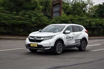 重装上阵的城市SUV风向标 试驾东风本田CR-V