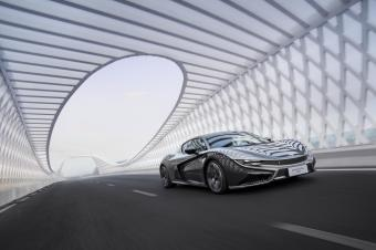 首试国产首款碳纤维纯电跑车 前途K50八年磨一剑