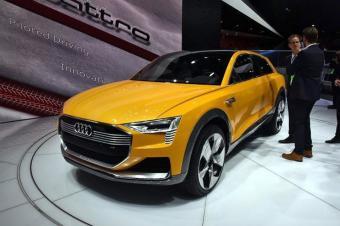 新能源的新导向?奥迪将推出氢燃料SUV车型