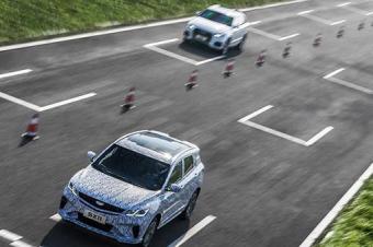 吉利新款SX11车型曝光 BMA架构首款SUV