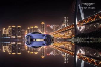 汽车美图分享:阿斯顿马丁,最美的风景总在路上!