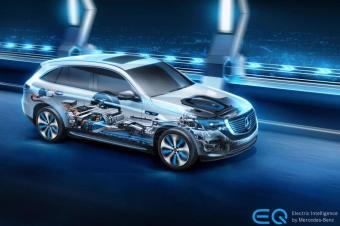 奔驰第一台纯电动车EQC,真能碾压特斯拉?