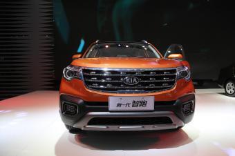 东风悦达起亚-新一代智跑,12万级别紧凑型SUV,车展实拍!