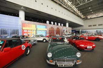 老爷车集市,惊现芒果长沙国际车展,中国版圆石滩车展来了!