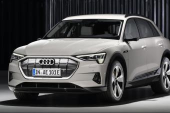奥迪e-tron穿电动SUV全球首发,2020年将在中国国产