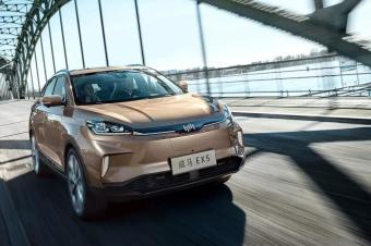 威马首款量产车终于交付,威马EX5补贴后11.23万起