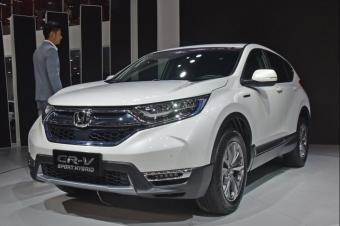 东风本田9月销量出炉,CR-V同比下滑30.1%