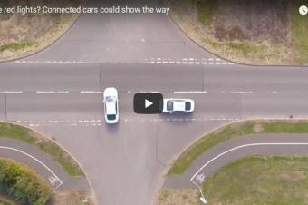福特利用车间通信技术降低十字路口交通事故发生率
