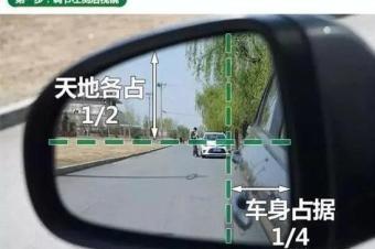 """做好这四个步骤,开车时的盲区基本被""""消灭""""掉了!"""