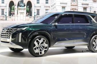 现代旗舰SUV Palisade 将于11月份发布