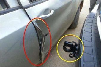 """汽车私自加装""""流氓钩"""",被后车追尾,哪方负责?"""