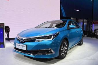卡罗拉插电混动版广州车展开启预售