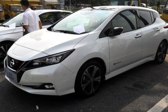 日产聆风也来广州车展凑热闹,税费够买一台比亚迪元