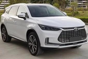 比亚迪唐EV广州车展预售 续航500km