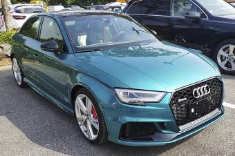 2018广州车展探馆:Audi Sport家族新车亮相