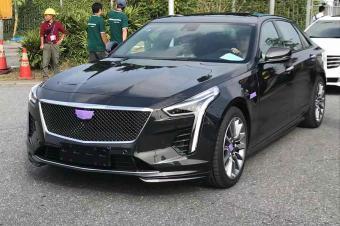 2018广州国际车展探馆:新款凯迪拉克CT6