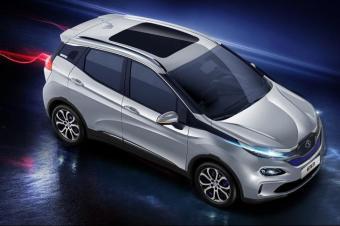 北汽EX3量产车要在广州车展掀翻元EV?不,它要的是高级感