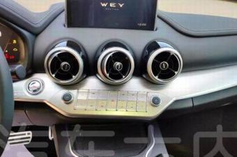 实拍详解 WEY VV7换装全新内饰设计
