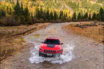 中型SUV老铁们快跑!全新Jeep自由光它来了!
