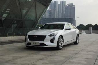 新款凯迪拉克CT6 广州车展正式发布 设计配置全新升级