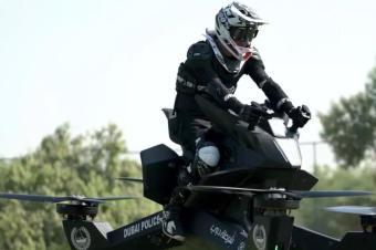 无人机载人不是梦!这款Hoverbike你敢骑吗?