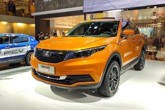 观致5 SUV 智云互联版广州车展正式发布 搭载斑马系统