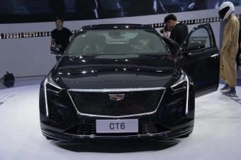 2018广州车展抢先实拍凯迪拉克CT6