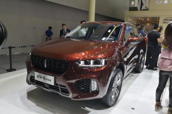 预售价13.50万元  WEY VV5终结版广州车展亮相