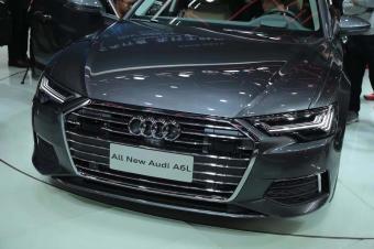 2018广州车展抢先实拍全新一代奥迪A6L