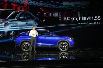 国产轿跑SUV亮相广州车展,长安CS85首秀,你被惊艳了吗?