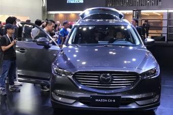"""马自达全新CX-8来了!兼顾颜值和空间,堪比""""高达版旅行车"""""""