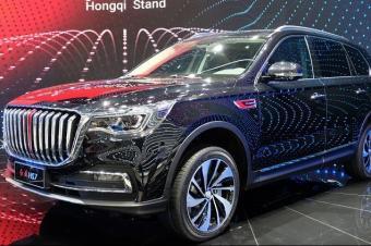 2018广州车展丨定位中大型SUV 红旗HS7正式亮相