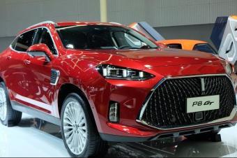 2018广州车展丨WEY P8 GT亮相 明年上半年上市