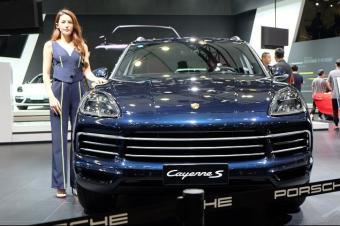 2018广州车展丨保时捷新款Cayenne S售118.8万