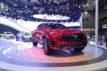 2019款别克GL6广州车展实拍:智能互联体验全面升级