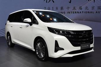 广汽传祺全新MPV GM6开启预售 11.5-16.5万元