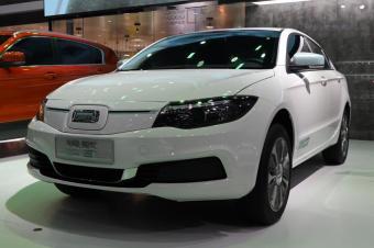 2018广州车展丨观致3 EV500亮相 续航达450km