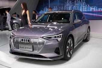 2018广州车展丨奥迪e-tron实车国内首次亮相
