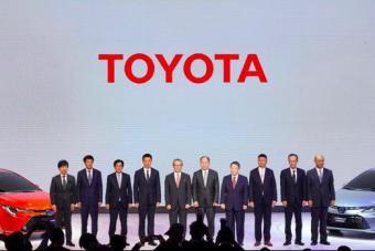 丰田携旗舰轿车AVALON 亚洲龙等新车集体亮相广州车展