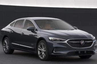 2020款别克君越中期改款车型曝光 将新增1.3T发动机