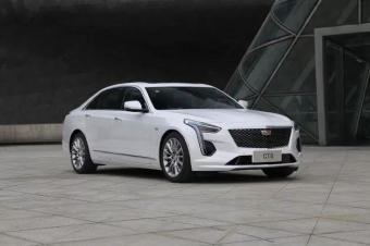 中期改款凯迪拉克CT6亮相广州车展!换全新2.0T发动机!
