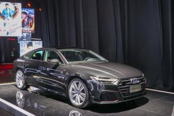 实拍详解全新奥迪A7 ,售价80.88万元起,黑科技看齐A8